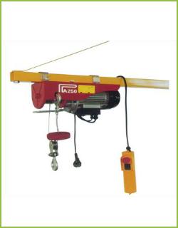 Тельфер электрический (миниэлектроталь, лебедка) марки PA- 250A(125/250) -18m